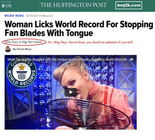 Huffington Post Weird News 6
