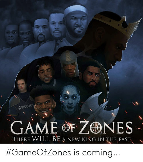 Game, King, and Will: OACERS  GAME eF ZONES  THERE WILL BE A NEW KING IN THE EAST  、 #GameOfZones is coming…