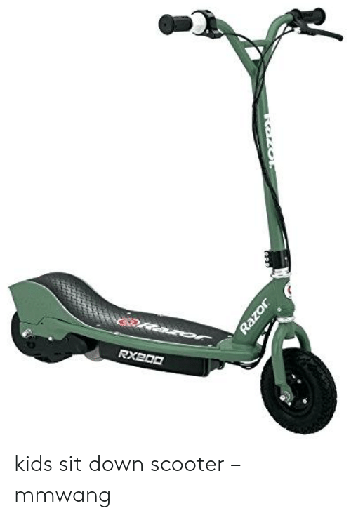 Sit Down Scooter >> Oaror Rxe00 Razor Kids Sit Down Scooter Mmwang Scooter