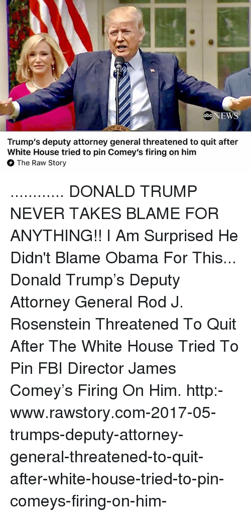Trump Blames Fbi Russia And Democrats For Fake 35 Page: 25+ Best Memes About Blame Obama