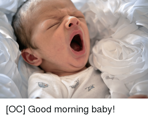 good morning good and baby