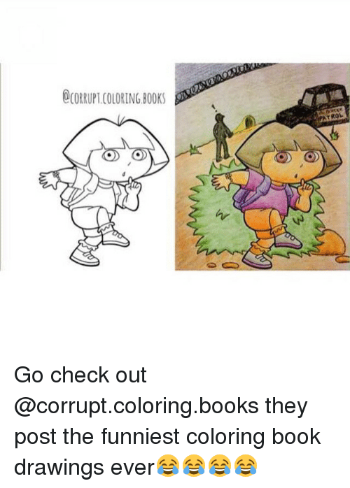 25 Best Corrupted Coloring Book Memes