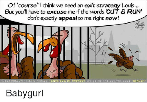 Memes And Strategy Of Course I Think We Need An Exit