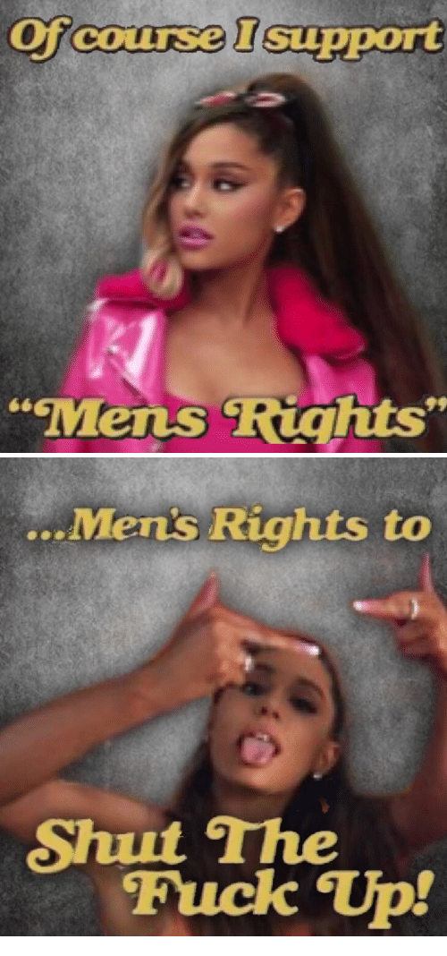 """Fuck, Mens Rights, and Cox: Of  course Isupport  COX  Mens Riahts""""   ...  Mens Rights to  Shut The  Fuck Tp!"""