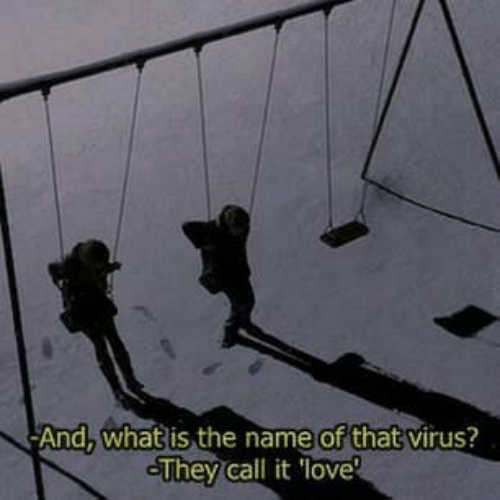 Love, What Is, and Virus: of that  And. what is the name  virus?  They call it love