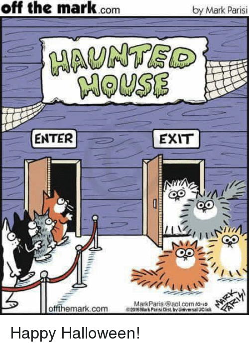 Image result for off the mark halloween cartoons
