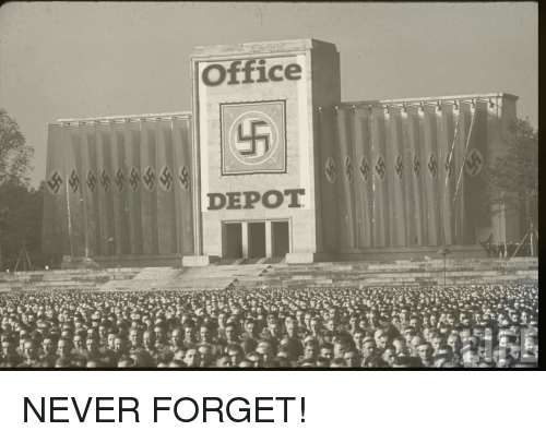 Office, Never, And Circlejerk: Office DEPOT NEVER FORGET!
