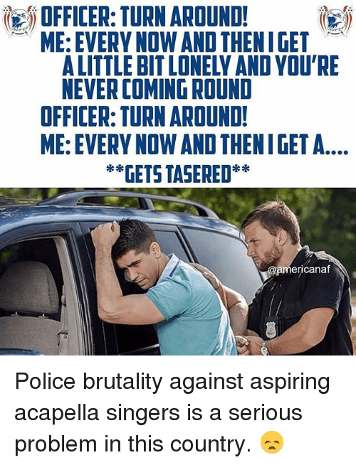 Memes Police And Never OFFICER TURN AROUND ME EVERY NOW AND
