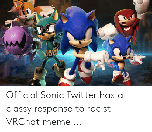 Official Sonic Twitter Has a Classy Response to Racist