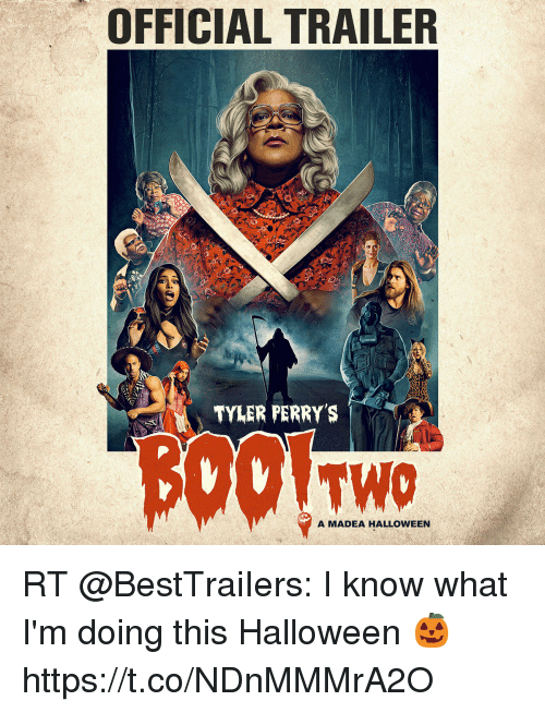 OFFICIAL TRAILER TYLER PERRYS TWO a MADEA HALLOWEEN RT I Know What ...