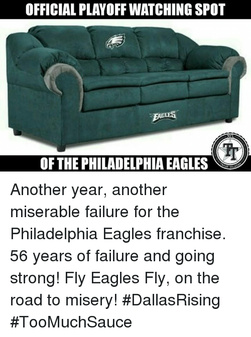 Officialplayoff Watching Spot Of The Philadelphia Eagles Another