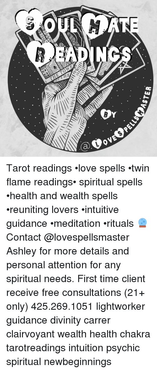 Og READ OVE Tarot Readings •love Spells •twin Flame Readings