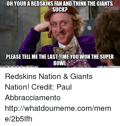 oh ared fan and thinkthe giants suck please tell me 18421054 25 best giants suck memes with memes, infos memes, info memes