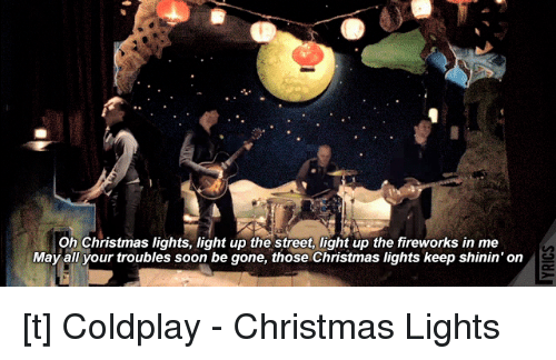 Oh Christmas Lights Light Up the Street Light Up the Fireworks in Me ...