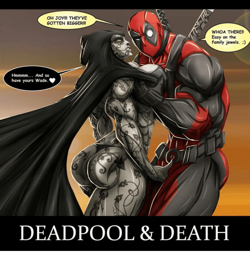 oh joy theyve gotten bigger whoa there easy on the 14540161 ✅ 25 best memes about deadpool death deadpool death memes