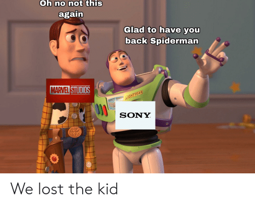 Oh No Not This Again >> Oh No Not This Again Glad To Have You Back Spiderman Marvel Studios