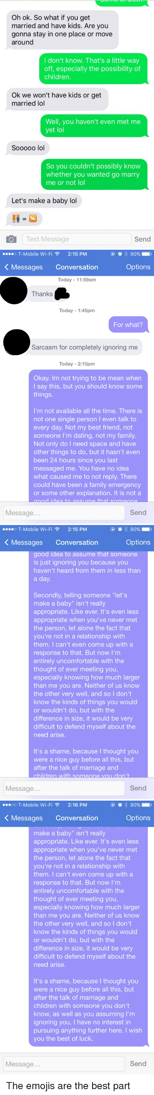 What does it mean to talk to a girl before dating