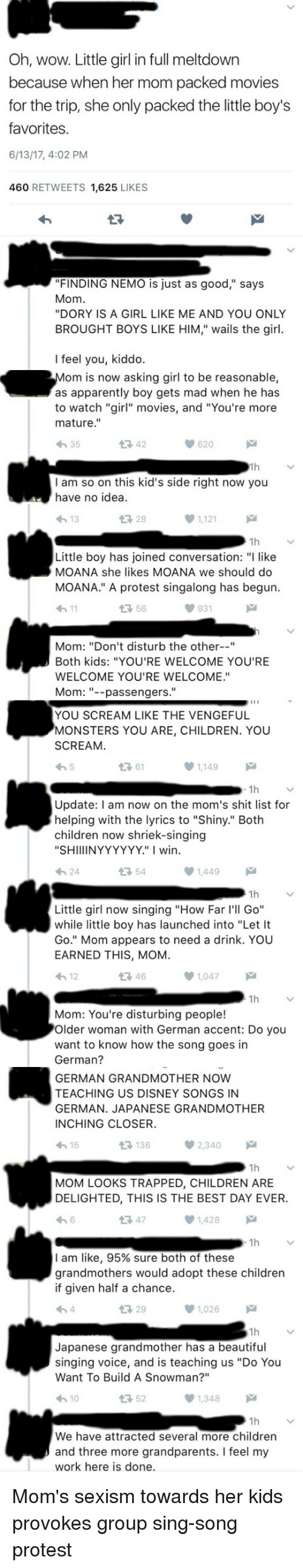Oh Wow Little Girl In Full Meltdown Because When Her Mom -3144