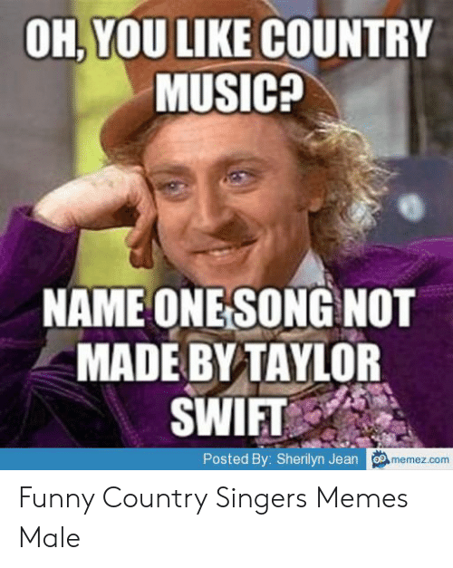 Oh You Like Country Music Name One Song Not Made By Taylor Hims