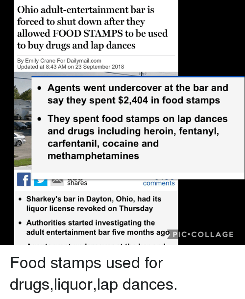 drugs food and heroin ohio adult entertainment bar is forced to shut
