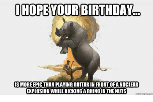 Ohope Your Birthday Hope Your Birthday S More Epic Than Playing