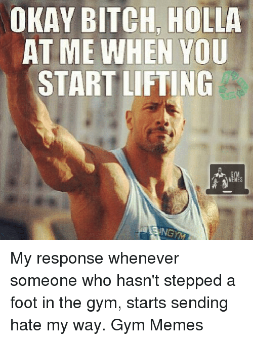 Bodybuilder Hookup Meme About Bitches & Niggas Be Like