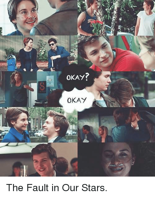 Memes, Fault In Our Stars, And The Fault In Our Stars: OKAY?
