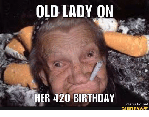 Funny old lady pictures