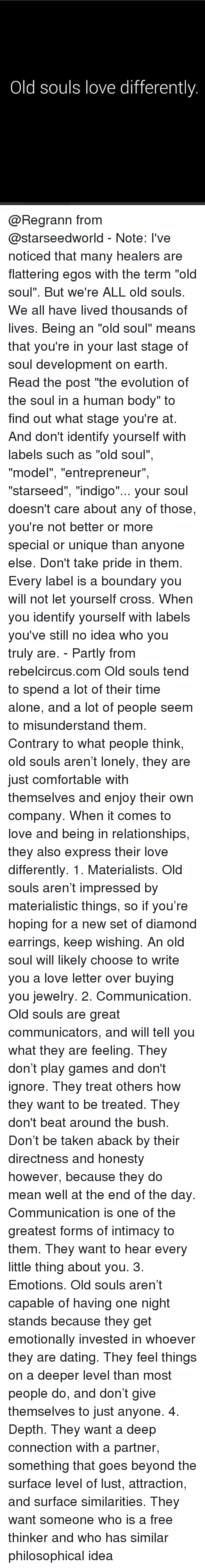 dating for old souls