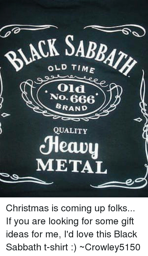 666 brand quality heavy - Heavy Metal Christmas