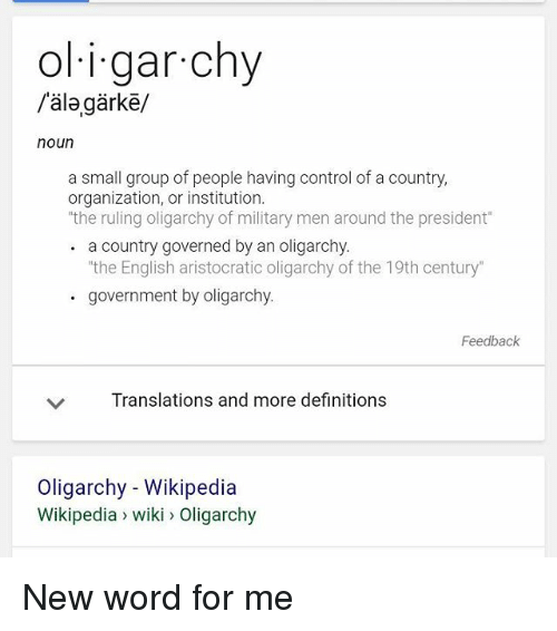 what is the difference between aristocracy and oligarchy