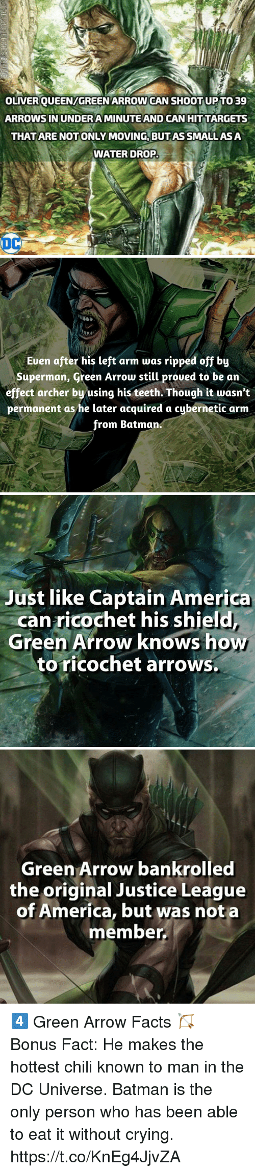 oliverqueengreenarrow can shoot up to 39 arrows in undera minute and