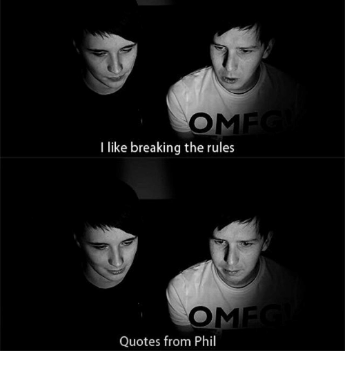 Ome I Like Breaking The Rules Ome Quotes From Phil Meme On Meme