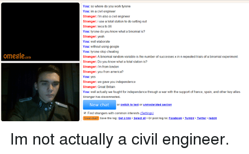 Omegle unmoderated section not working