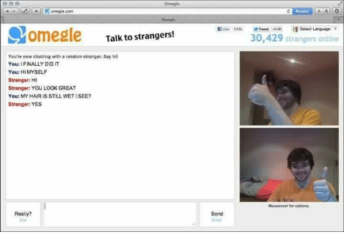 Were visited Chat online omegle agree