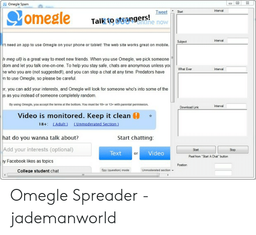 Omegle app  Top 15 Best Apps Like Omegle For Android And iOS