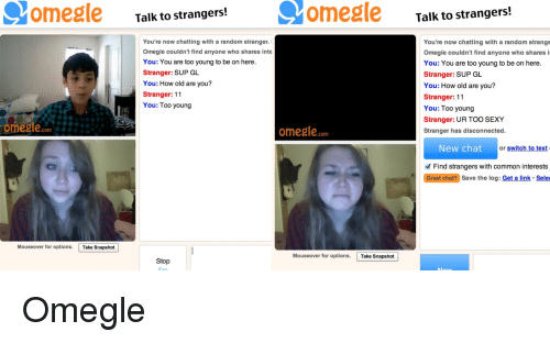 Older women on omegle