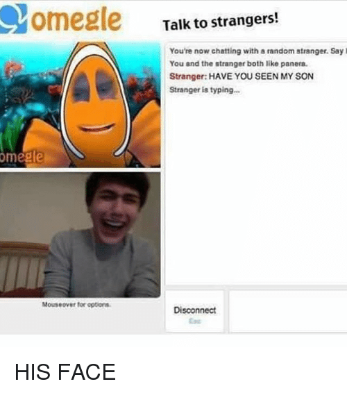 Omegle talk to strangers chat room