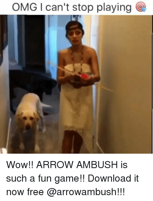 OMG I Can't Stop Playing Wow!! ARROW AMBUSH Is Such a Fun Game