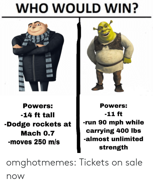 Tumblr, Blog, and Com: omghotmemes:  Tickets on sale now