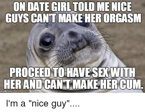 Cant make her orgasm