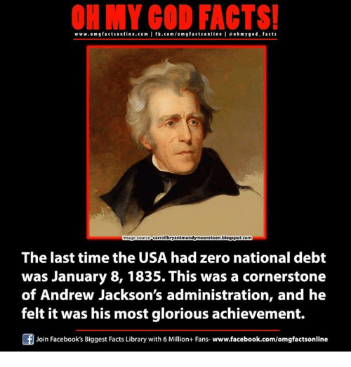 on my god facts www om g facts online com i fb com om 4962905 ✅ 25 best memes about andrew jackson andrew jackson memes