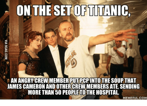 on the setoftitanic an angrycrewmember putrcpintothe soup that james cameron 13913708 ✅ 25 best memes about hospital meme hospital memes,Hospital Memes