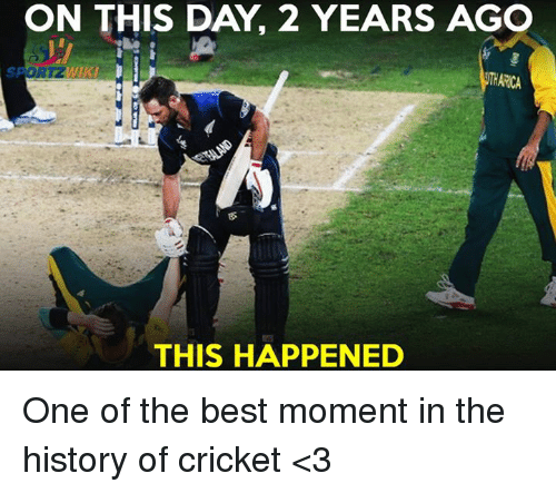 Memes, 🤖, and Moment: ON THIS DAY 2 YEARS AGO  ARCA  THIS HAPPENED One of the best moment in the history of cricket <3