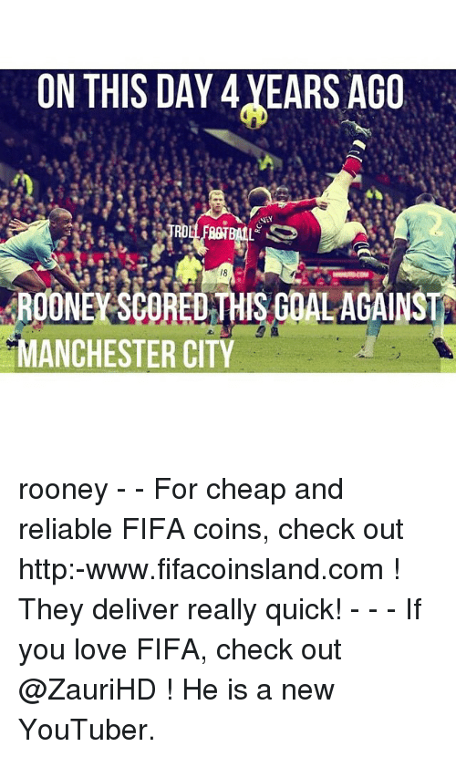 486fe3b5811 On THIS DAY 4 YEARS AGO DALAGA MANCHESTER CITY Rooney - - For Cheap ...