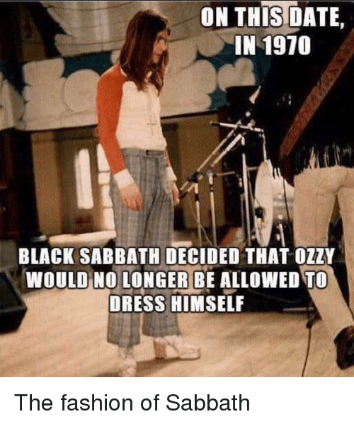 On Thstdate In 1970 Black Sabbath Decided That Ozzy Would No Longer