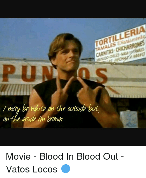 blood in blood out fight scene