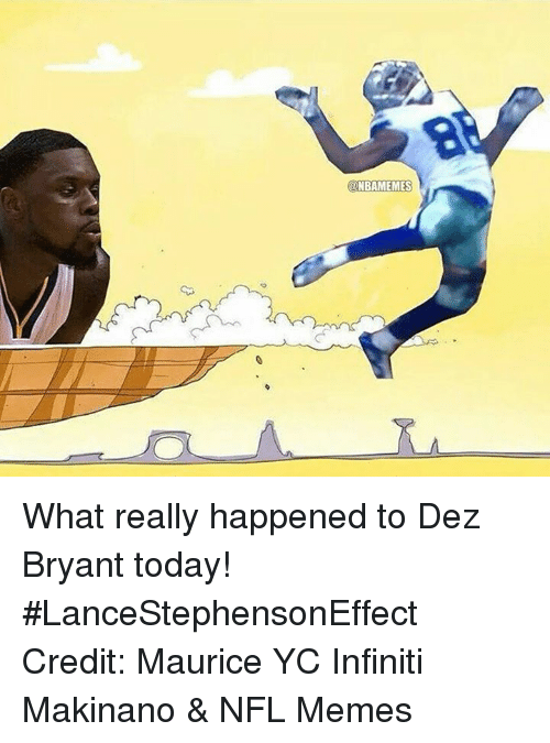 Onbamemes What Really Happened To Dez Bryant Today