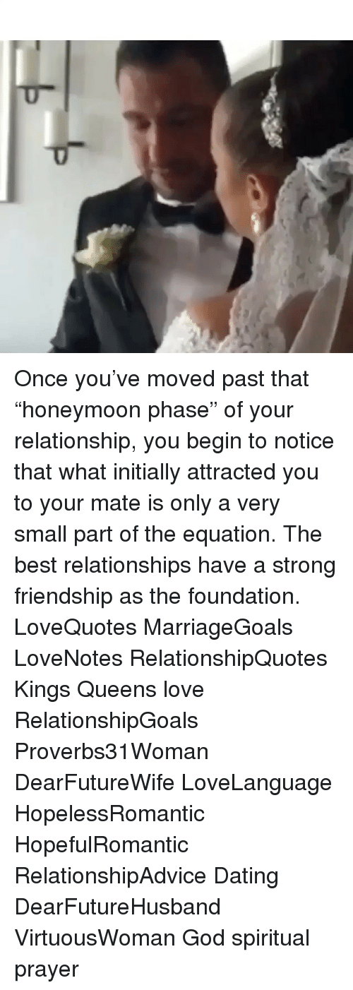 honeymoon phase in a relationship