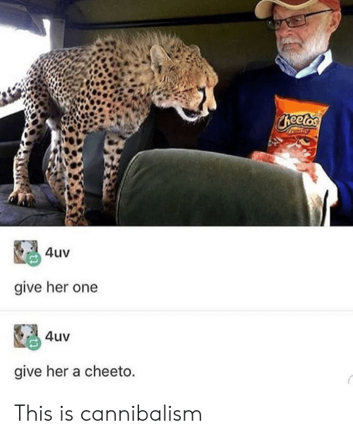 Ondry 4uv Give Her One 4uv Give Her a Cheeto This Is